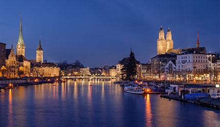 قیمت تور اقتصادی زوریخ سوئیس زمستان ۹۹