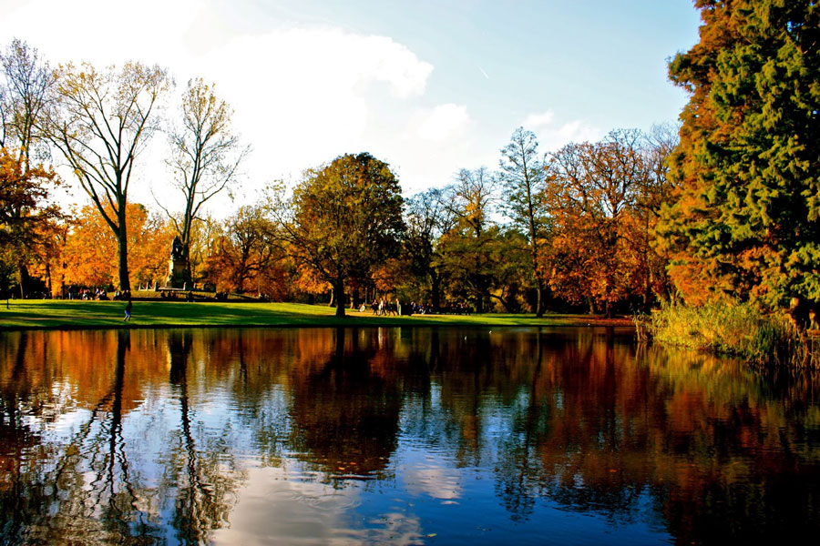 فوندل پارک شهر آمستردام