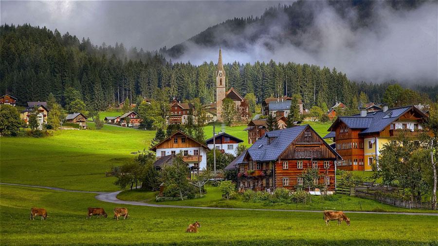 مناطق روستایی کشور اتریش