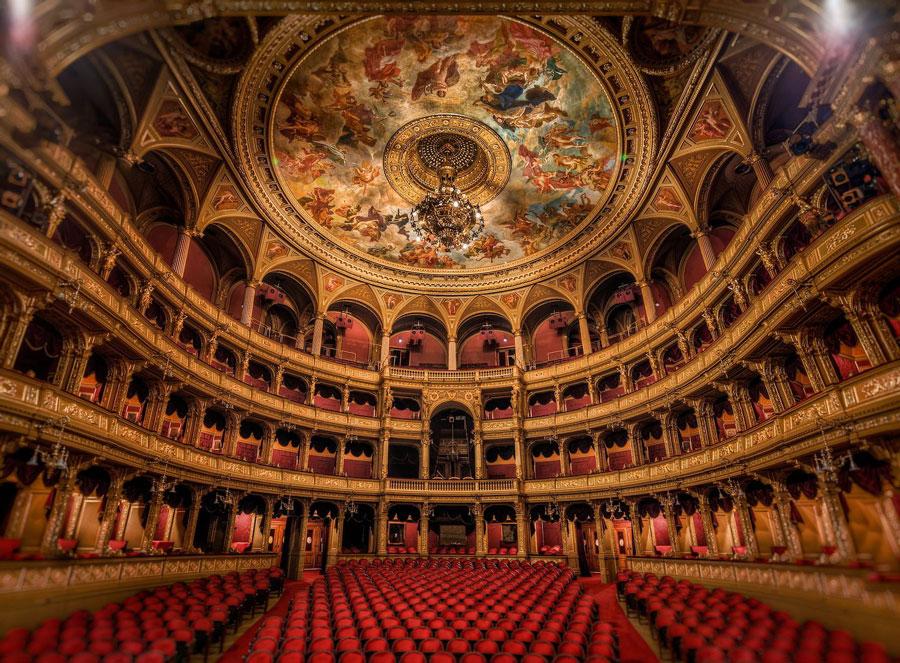 خانه ملی اپرای مجارستان در بوداپست