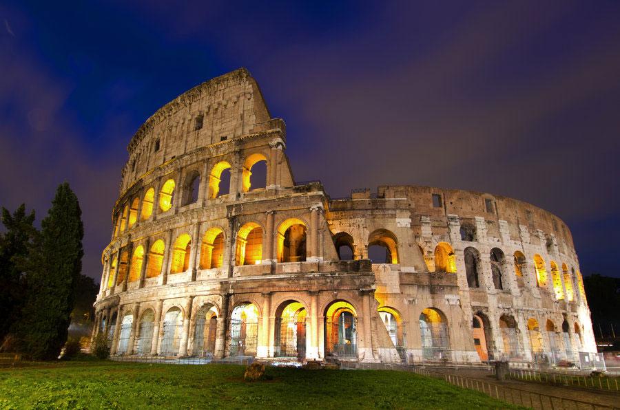 کولوسئوم در شهر رم