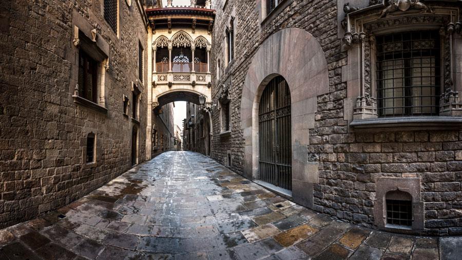 دهکده گوتیک بارسلونا