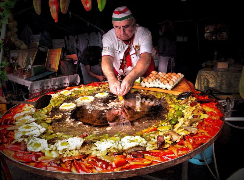 غذاهای تند و متنوع کشور مجارستان