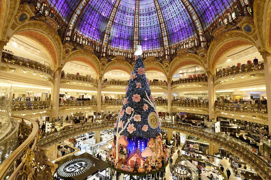 مرکز خرید لافایت پاریس