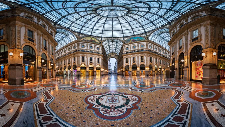 گالری ویتوریو امانوئل تاریخی ترین مرکز خرید در میلان