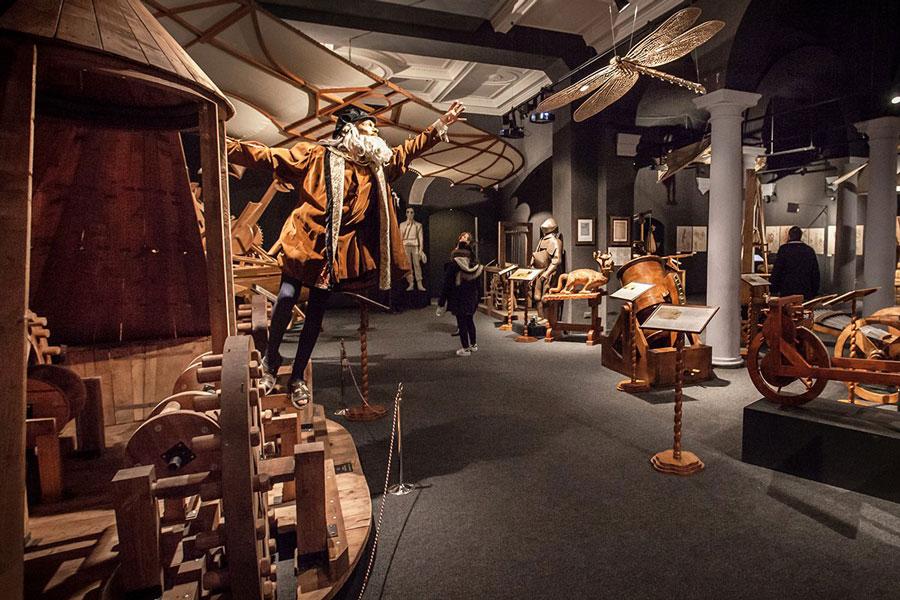 موزه علم و تکنولوژی لئوناردو داوینچی