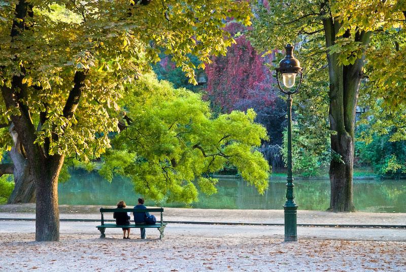 پارک بوت شومون پاریس