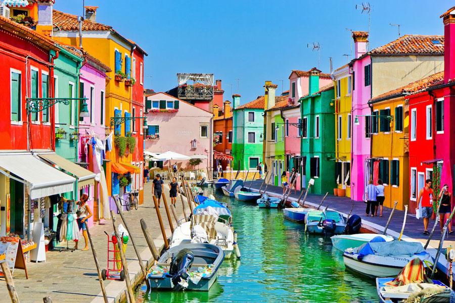 بورانو (Burano) ونیز ایتالیا