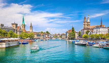 تور لاکچری زوریخ سوئیس