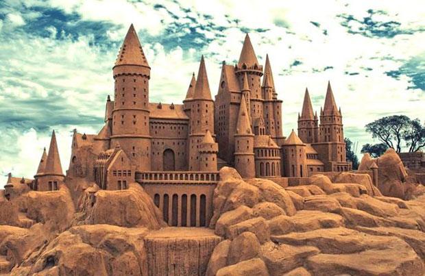 ممنوعیت ساخت قلعه های شنی