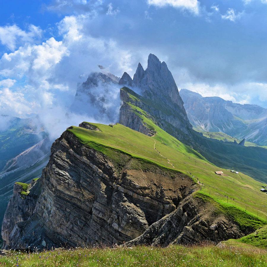 رشته کوه های آلپ