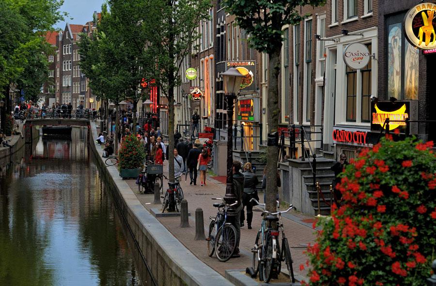 کانال های آب آمستردام