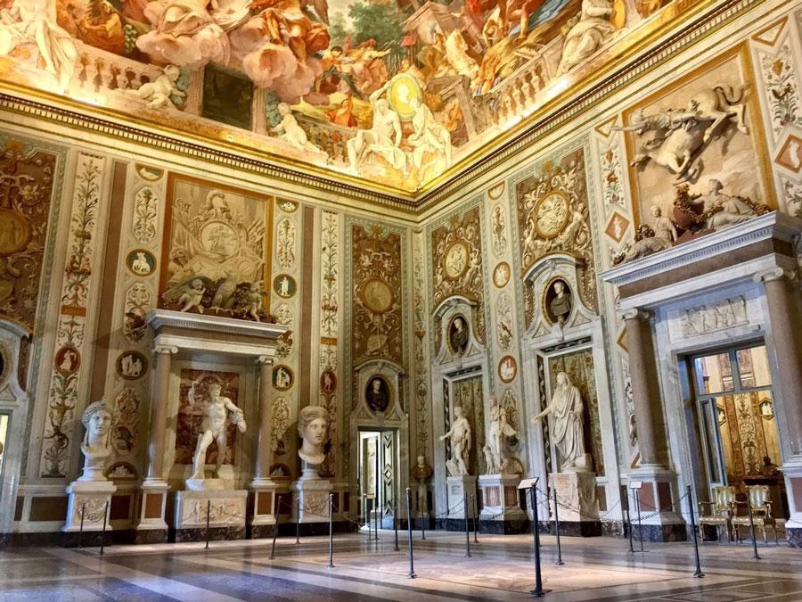 گالری بورگز (Galleria Borghese)