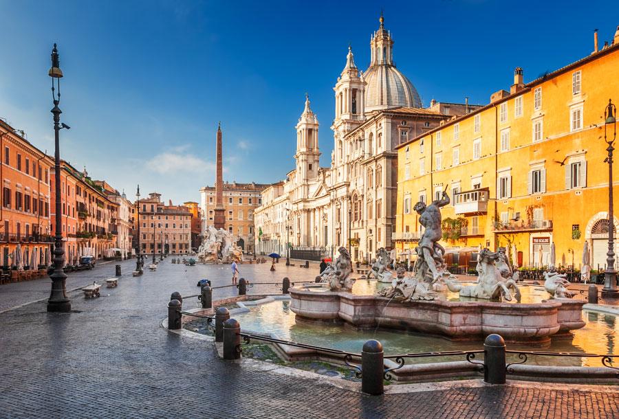 پیازا ناوونا (Piazza Navona)