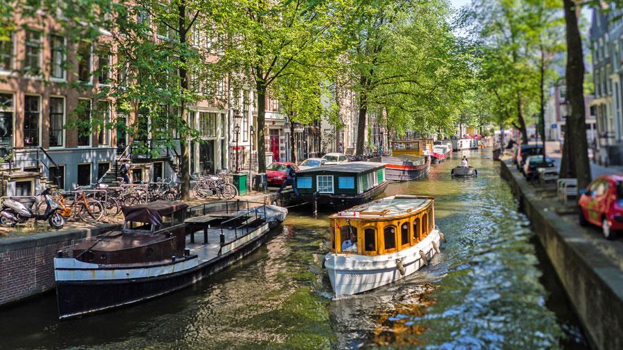 کانال های آبی آمستردام