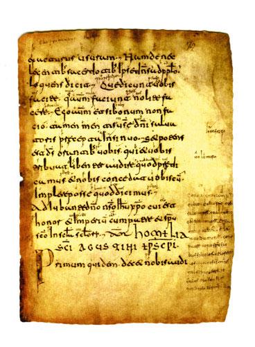 قدیمی ترین متون اسپانیایی که پیدا شده